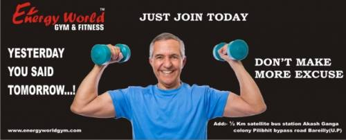 <b>ENERGY WORLD GYM</b><br/>hopes to expand its vision through the franchising route by partnering with like-minded people who have a passion and commitment for helping people live a better quality of life.